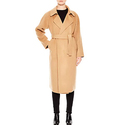 Sandro Women's Kava Belted Wool Coat