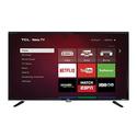 """TCL 40"""" or 48"""" LED 1080p 120Hz Roku Smart HDTV (Manufacturer Refurbished)"""