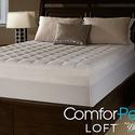 """ComforPedic Loft 5.5"""" Gel Memory Foam and Fiber Mattress Topper"""