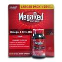 Megared 350mg Omega-3 Krill 130 Softgels Oil