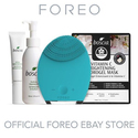 FOREO LUNA Facial Cleansing Brush & Boscia Skin Care Set