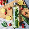 MIU COLOR Borosilicate Glass Water Bottle