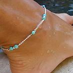 Mermaid Turquoise Anklet