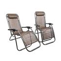 Zero Gravity Lounge Chairs (2-Pack)