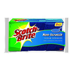 Scotch-Brite Scrub Sponge 9-Count (Pack of 2)
