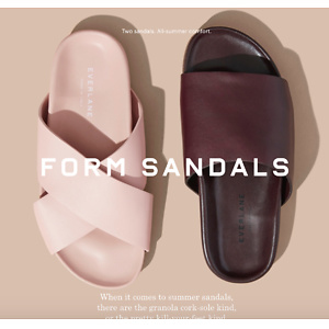 Everlane:New Slides Collection
