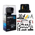 GoPro HERO5 Black Edition +45pcs Mega Accessories Kit