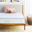 """LINENSPA 2"""" Gel-Infused Memory Foam Mattress Topper from $34.99"""