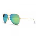 Ray-Ban Men's Mirrored Aviator Sunglasses