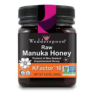 Wedderspoon 100% Raw Premium Manuka Honey KFactor