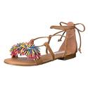 Steve Madden Women's Swizzle Flat Sandal