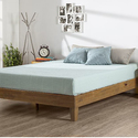 Zinus 12 Inch Deluxe Wood Platform Bed