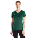 ASICS Womens Circuit 8 Warm-Up Shirt, Forest, X-Small