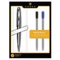 Cross Bailey Chrome Ballpoint Pen with 2 Refills