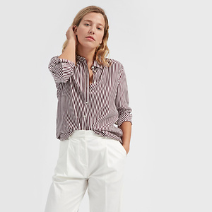 Everlane: The Relaxed系列丝质衬衫