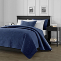 Chezmoi Collection Austin 3-piece Oversized Bedspread Coverlet Set