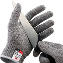 NoCry Cut Resistant Gloves , Food Grade. Size Medium. Free Ebook Included!