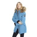 Alpinetek Women's Mid-Length Down Parka