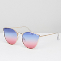 Quay Australia 'All My Love' Tinted Lens Sunglasses