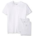 3 Cotton Hanes T-shirts White, M