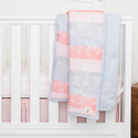 Burt's Bees Baby Watercolor Reversible Quilts
