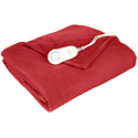 Sunbeam Fleece Heated Throw with PrimeStyle Lighted Controller