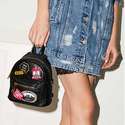 Aldo Farore Mini Patch Backpack