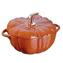 Staub Cast Iron Pumpkin Cocotte - 3.5 Quart