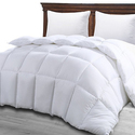 Utopia Bedding Duvet Insert White - Quilted Comforter