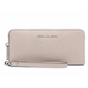 MICHAEL MICHAEL KORS Jet Set Travel Saffiano Leather Zip Continental Wallet