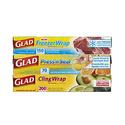 Glad 透明食物保鲜膜3盒
