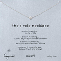 Dogeared Karma The Circle Necklace,16""