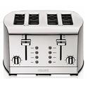 KRUPS KH734D 早餐套装4 槽不锈钢烤面包机