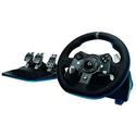 Logitech 罗技G920顶级赛车游戏方向盘+踏板套装