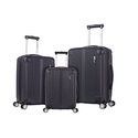 "Rockland Hardside Spinner 3-Piece Luggage Set (20""/24""/28"")"