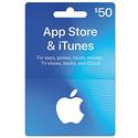 $50 App Store & iTunes 礼卡