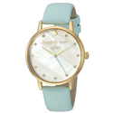 kate spade new york Women's 'Metro' Quartz Stainless Steel and Leather Casual Watch