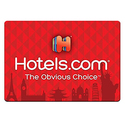 $50 Hotels.com Red Gift Card - E-mail Delivery