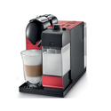 DeLonghi Red Lattissima Plus Nespresso Capsule System