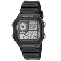 Amazon: CASIO 卡西欧 AE-1200WH-1A 经典男士手表