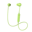 ANDPLAY Bluetooth Headphones Wireless V4.1 Stereo Noise Isolating Sports Sweatproof Headset with Mic for iPhone x 8 7 6 Samsung Galaxy S7 and Android Phones(Green)