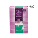 Poise Incontinence Ultra Thins 24ct*6pk