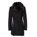 Coats Direct:  Braetan人造皮草毛领大衣