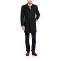 Tommy Hilfiger Men's Barnes Single Breasted Walker Coat - 42 Long