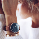 Daniel Wellington Classic Petite St Mawes in Black 32mm