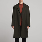 U系列 男式羊毛大衣