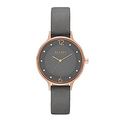 Skagen Women's SKW2267 Anita Grey Leather Watch