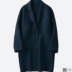 U系列 女式双面羊毛大衣