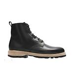 黑色牛皮靴