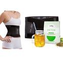 女士束腰带+排毒减肥茶套装